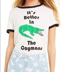 Wildfox The Caymans Johnny Ringer Tee